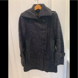 Mackage dark grey wool coat. Size 8